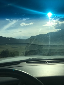 Drive up the Rocky Mountains